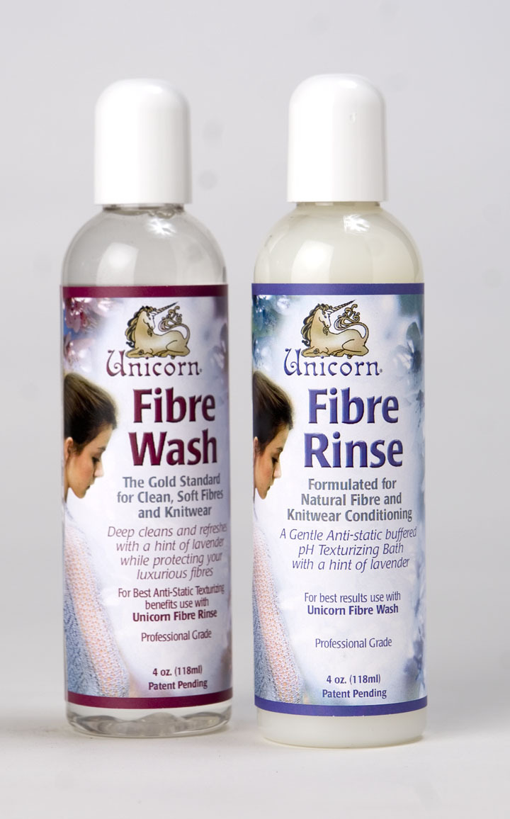 Unicorn Fibre Rinse & Wash 4oz Gift Sampler Set