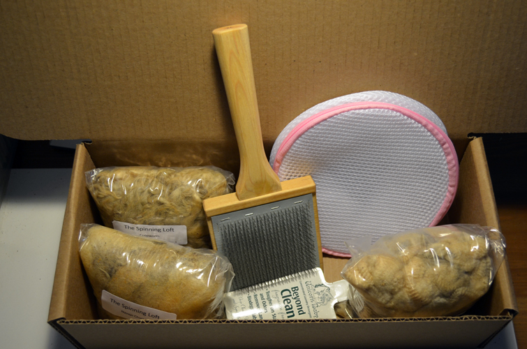 Learn to process fleece with our new kit
